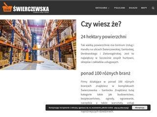 AMS Portfolio - Centrum Handlu i Usług Świerczewska Szczecin