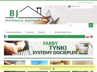 AMS Portfolio - BJ Dystrybucja Budowlana