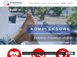 AMS Portfolio - PODOMED - Podolog Szczecin